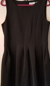 Pleated Black Calvin Klein Dress